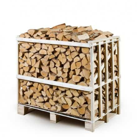 Small Crate of Kiln Dried Firewood