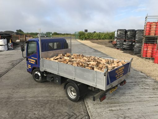 Full Load of Kiln Dried Logs