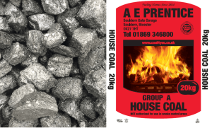 Medium Size House Coal Bag Picture