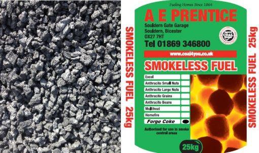 Blacksmiths Forge Coke