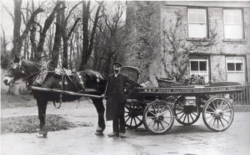 How we delivered coal in the early 1900's